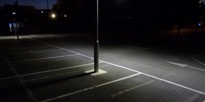 Car park solar lighting project