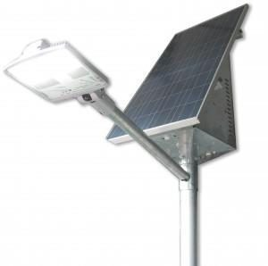 LED solar powered lighting