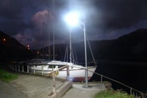 Marina solar lights