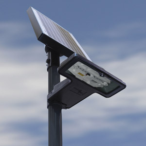 Solar sign lighting system