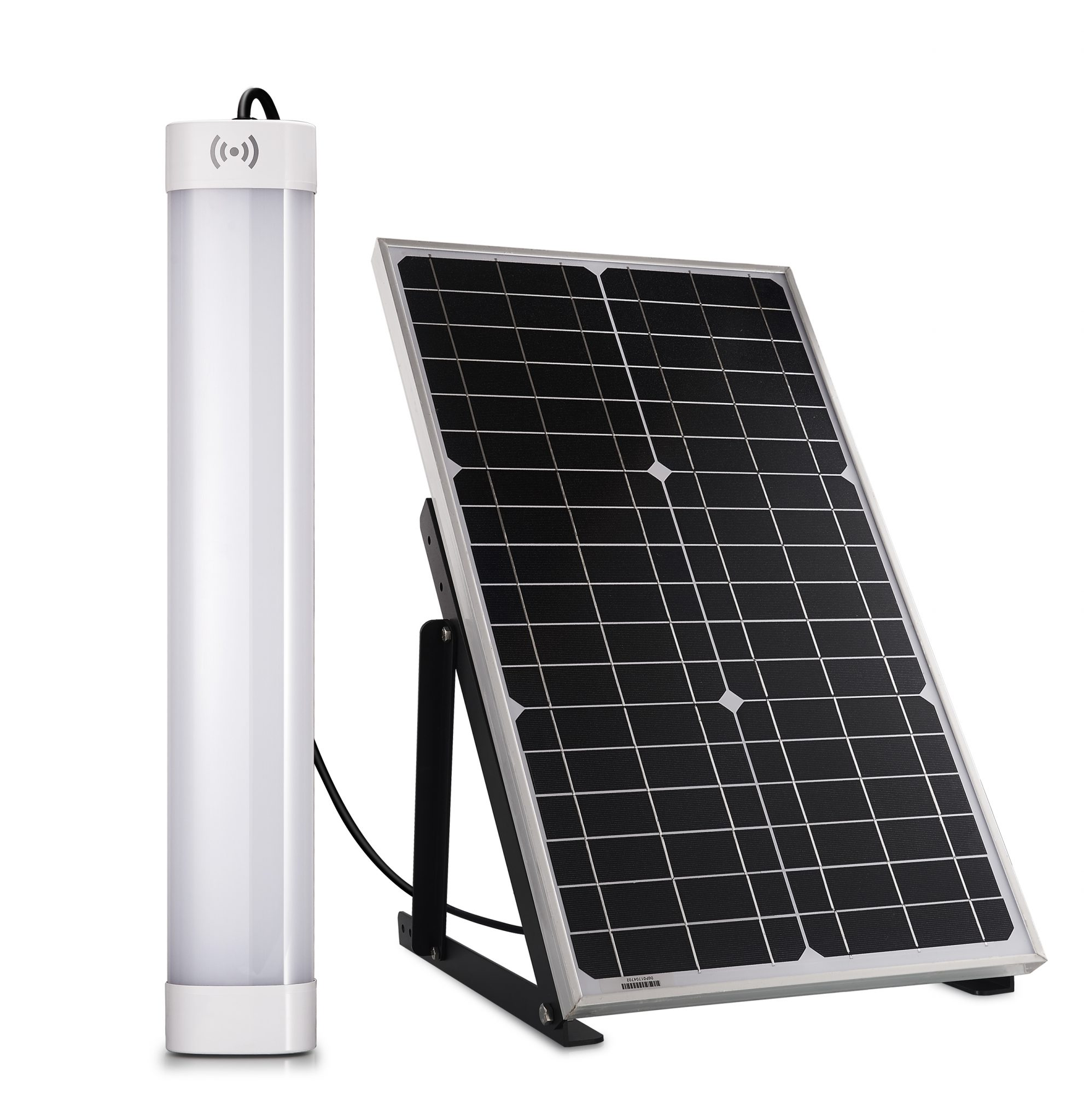 Solar shelter lighting kit